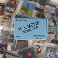 The Comic Book Gallery TV & Movie Trading Cards Mystery Box - Series 1 at PristineAuction.com