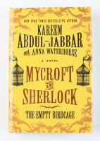 "Kareem Abdul-Jabbar Signed ""Mycroft and Sherlock: The Empty Birdcage"" Hardcover Book (PSA COA) at PristineAuction.com"