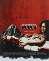 """George Jung Signed """"Blow"""" 16x20 Photo Inscribed """"El Americano"""" (ACOA Hologram) at PristineAuction.com"""