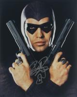 "Billy Zane Signed ""The Phantom"" 16x20 Photo with Hand Drawn Sketch (AutographCOA COA) at PristineAuction.com"