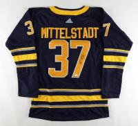 Casey Mittelstadt Signed Sabres Jersey (JSA COA) at PristineAuction.com