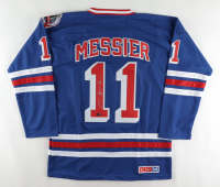Mark Messier Signed Rangers Jersey (CX Authentication COA) at PristineAuction.com