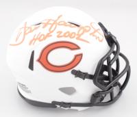 "Dan Hampton Signed Bears Lunar Eclipse Alternate Speed Mini Helmet Inscribed ""HOF 2002"" (JSA COA) at PristineAuction.com"