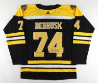 Jake DeBrusk Signed Bruins Jersey (JSA COA) at PristineAuction.com