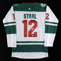 Eric Staal Signed Wild Jersey (JSA COA) at PristineAuction.com