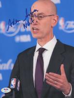 "Adam Silver Signed 8x10 Photo Inscribed ""NBA!"" (PSA Hologram) at PristineAuction.com"