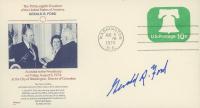 Gerald Ford Signed 1974 Inauguration Envelope (JSA Hologram) at PristineAuction.com