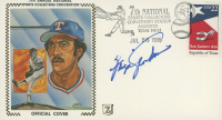 """Ferguson """"Fergie"""" Jenkins Signed 7th Annual National Sports Collectors Convention Rangers 1986 FDC Envelope (JSA COA) at PristineAuction.com"""