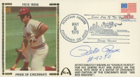 "Pete Rose Signed Reds 1978 FDC Envelope Inscribed ""#4256"" (JSA COA) at PristineAuction.com"