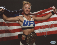 Holly Holm Signed UFC 8x10 Photo (Beckett COA) at PristineAuction.com