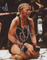 Paige VanZant Signed UFC 8x10 Photo (Beckett COA) at PristineAuction.com