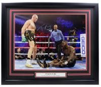 Tyson Fury Signed 20x24 Custom Framed Photo Display (Beckett COA) at PristineAuction.com