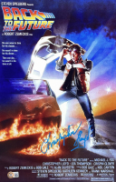 """Christopher Lloyd Signed """"Back to the Future"""" 11x17 Movie Poster (Beckett COA) at PristineAuction.com"""