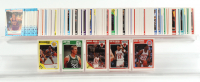 1989-90 Fleer Basketball Complete Set of (168) Cards with Michael Jordan #21, Scottie Pippen #23, Mitch Richmond #56 RC, Larry Bird #8 at PristineAuction.com