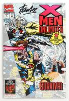 "Stan Lee Signed 1993 ""X-Men Unlimited"" Vol. 1 Issue #1 Marvel Comic Book (JSA Hologram) at PristineAuction.com"