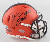 Jeremiah Owusu-Koramoah Signed Browns Speed Mini Helmet (Beckett Hologram & Denver Autographs COA) at PristineAuction.com