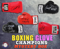 Schwartz Sports Boxing Champions Signed Boxing Glove Mystery Box – (Champions Edition Series 5) (Limited to 100) (ALL ARE FORMER BOXING CHAMPIONS!!) at PristineAuction.com