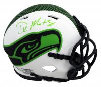 DK Metcalf Signed Seahawks Lunar Eclipse Alternate Speed Mini Helmet (Beckett Hologram) at PristineAuction.com