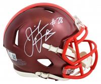 Jeremiah Owusu-Koramoah Signed Browns Flash Alternate Speed Mini Helmet (Beckett COA) at PristineAuction.com