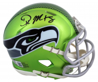 D.K. Metcalf Signed Seahawks Flash Alternate Speed Mini Helmet (Beckett COA) at PristineAuction.com