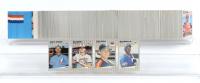 1989 Fleer Baseball Complete Set of (660) Cards with Bill Ripken #616E, Randy Johnson #381 RC, Craig Biggio #353 RC, Ken Griffey Jr. #548 RC at PristineAuction.com