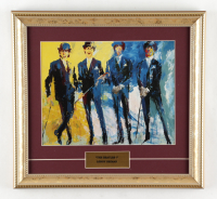 """LeRoy Neiman """"The Beatles"""" 13x14 Custom Framed Photo Display at PristineAuction.com"""