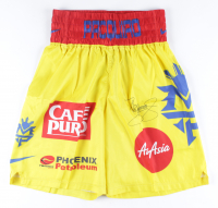 Manny Pacquiao Signed Fight Model Boxing Trunks (Pacquiao COA) at PristineAuction.com
