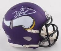 Daunte Culpepper Signed Vikings Speed Mini Helmet (PSA COA) at PristineAuction.com