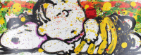 """Tom Everhart Signed """"Snooze Alarm Boogie"""" 20x52 PP Lithograph (PA LOA) (See Description) at PristineAuction.com"""