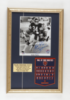 """Walter Payton Signed Bears 14x21 Custom Framed Photo Display Inscribed """"Sweetness"""" with Hall of Fame Banner (PSA LOA) at PristineAuction.com"""