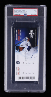 2015 Tigers vs. Indians Ticket (PSA Encapsulated) at PristineAuction.com