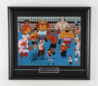 """Mike Tyson Signed """"Punch-Out!!!"""" 16x18 Custom Framed Photo Display (PSA COA & Tyson Hologram) at PristineAuction.com"""
