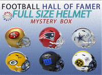 Schwartz Sports Football Hall of Famer Signed Full-Size Helmet Mystery Box Series 14 (Limited to 100) (HALL OF FAMER IN EVERY BOX!!) at PristineAuction.com