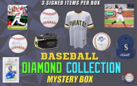 Schwartz Sports Baseball Diamond Collection Mystery Box – Series 8 (Limited to 150) (3 Autographed Baseball Collectibles In Every Box!!) at PristineAuction.com