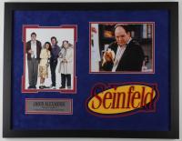 "Jason Alexander Signed ""Seinfeld"" 21x27 Custom Framed Photo (PSA COA) at PristineAuction.com"