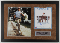 "Tom Hanks Signed ""Forrest Gump"" 19.5x27 Custom Framed Photo (PSA COA) at PristineAuction.com"