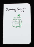 """Tommy Aaron Signed Augusta National Golf Club Score Card Inscribed """"'78"""" (JSA COA) at PristineAuction.com"""