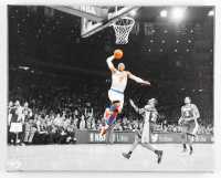 Carmelo Anthony Signed Knicks 16x20 Photo On Canvas (JSA COA) at PristineAuction.com