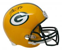 Aaron Rodgers Signed Packers Full-Size Helmet (Steiner Hologram) at PristineAuction.com