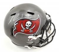 "Lavonte David Signed Buccaneers Full-Size Speed Helmet Inscribed ""SB LV Champs!"" (JSA COA) at PristineAuction.com"