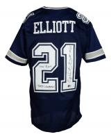 "Ezekiel Elliott Signed Jersey Inscribed ""How Bout Them Cowboys!"" (Beckett COA) at PristineAuction.com"