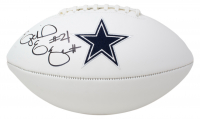 Ezekiel Elliott Signed Cowboys Logo Football (Beckett COA) at PristineAuction.com