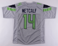DK Metcalf Signed Jersey (Beckett Hologram) at PristineAuction.com