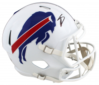 Stefon Diggs Signed Bills Full-Size Speed Helmet (Beckett COA) at PristineAuction.com