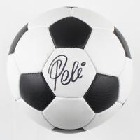 Pele Signed Vintage Soccer Ball (PSA Hologram) at PristineAuction.com