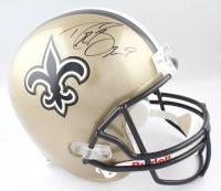 Drew Brees Signed Saints Full-Size Helmet (Radtke Hologram & Brees Hologram) at PristineAuction.com
