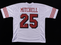 Elijah Mitchell Signed Jersey (JSA COA) at PristineAuction.com