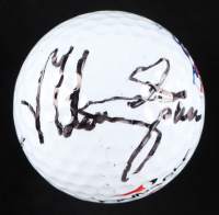 Mike Sposa Signed Pinnacle TPC Sugarloaf Logo Golf Ball (JSA COA) at PristineAuction.com