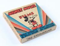 "Vintage 1940s Original Walt Disney's Mickey Mouse ""Silly Symphony Cartoons"" Cine Art Films 8mm Film Reel with Original Box at PristineAuction.com"