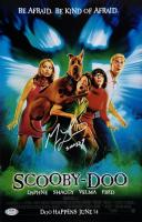 "Matthew Lillard Signed ""Scooby Doo"" 11x17 Movie Poster Inscribed ""Shaggy"" (PSA COA) at PristineAuction.com"